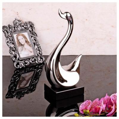 İhouse 1357 Dekoratif  Gümüş Biblo