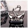 İhouse 1363 Dekoratif Biblo Gümüş Ev Gereçleri