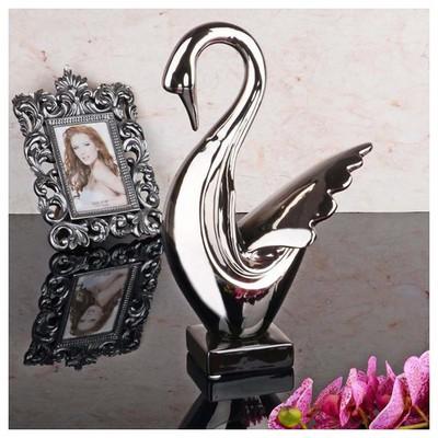 İhouse 1382 Dekoratif Biblo Gümüş