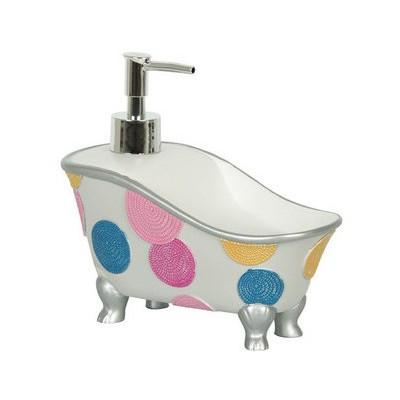İhouse 1bs106-49-w Küvet Sıvı Sabunluk Beyaz Banyo Gereçleri