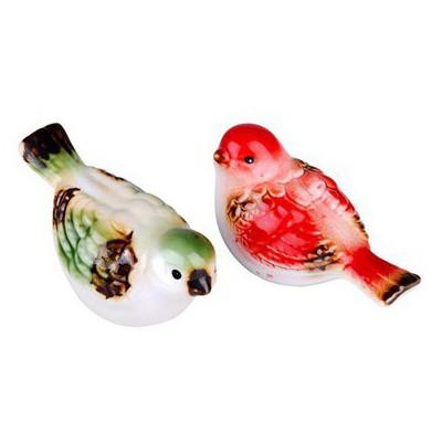 İhouse 21087 Kuş Figürlü Biblo Kırmızı Dekoratif Ürünler