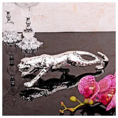 İhouse 21183 Dekoratif  Gümüş Biblo