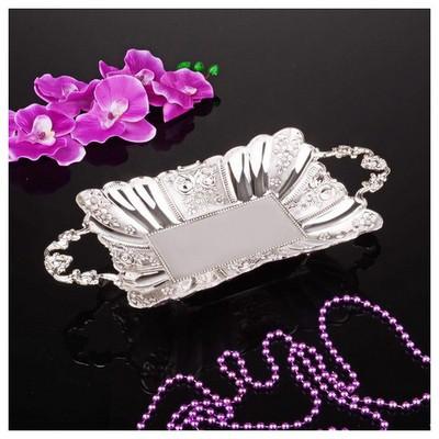 İhouse 25019 Gümüş Çikolatalık Gümüş Dekoratif Süs