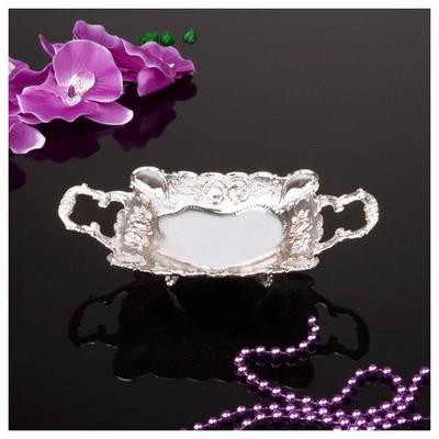 İhouse 25063 Gümüş Şekerlik Gümüş Gondol / Şekerlik