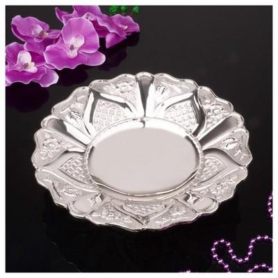 İhouse 25069 Gümüş Meyvelik Gümüş Küçük Mutfak Gereçleri