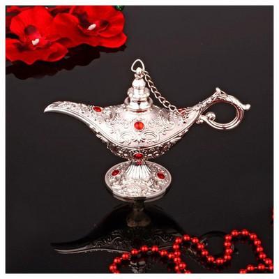 İhouse 25082 Gümüş İbrik Dekoratif Süs