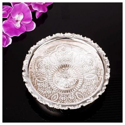 İhouse 25100 Gümüs Hamam Tası Gümüş Dekoratif Süs