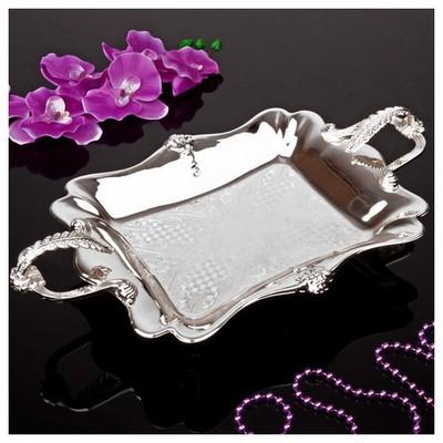 İhouse 25113 Gümüs Cikolatalık Gümüş Dekoratif Ürünler