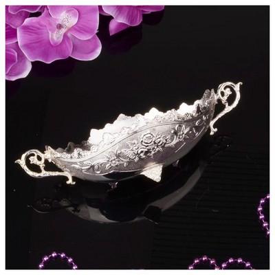 İhouse 25117 Gümüş Meyvelik Gümüş Sofra Gereçleri