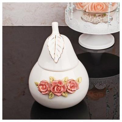 İhouse 27509 Porselen Sekerlik Beyaz Gondol / Şekerlik
