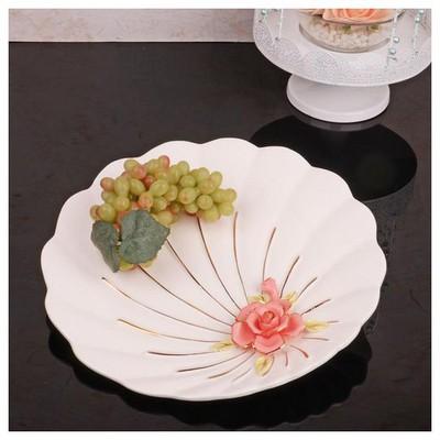 İhouse 27515 Porselen Meyvelik Beyaz Servis Gereçleri
