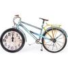 ihouse-39011-dekoratif-metal-saat-mavi