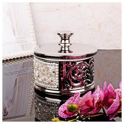 İhouse 4133 Dekoratif Şekerlik Gümüş Sofra Gereçleri