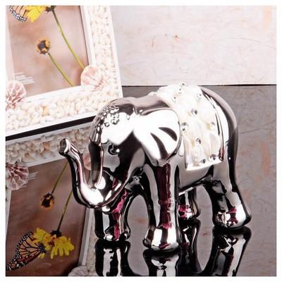 İhouse 4154 Dekoratif  Gümüş Biblo
