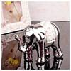 İhouse 4154 Dekoratif Biblo Gümüş Ev Gereçleri