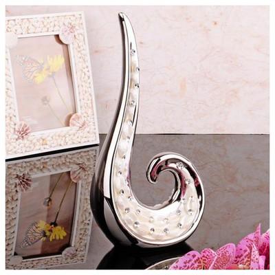 İhouse 4155 Dekoratif Obje Gümüş Dekoratif Süs