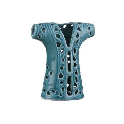 İhouse 43174-c Seramik Dekoratif Kaftan Mavi Dekoratif Ürünler