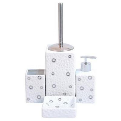 İhouse 49901 Porselen  Beyaz Banyo Seti