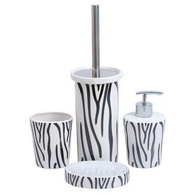 ihouse-49924-porselen-banyo-seti-siyah