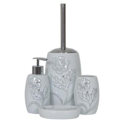 İhouse 49931 Porselen Banyo Seti Beyaz Banyo Gereçleri
