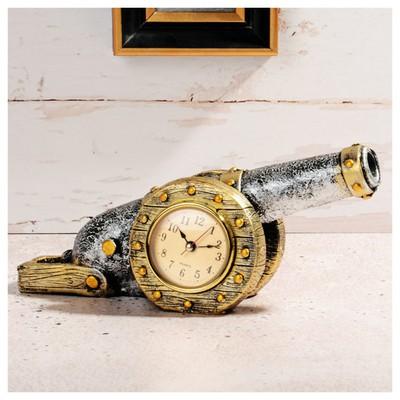 İhouse 54215 Dekoratif  Gümüş Masa Saati