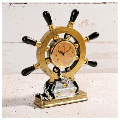 İhouse 54218 Dekoratif  Sarı Masa Saati