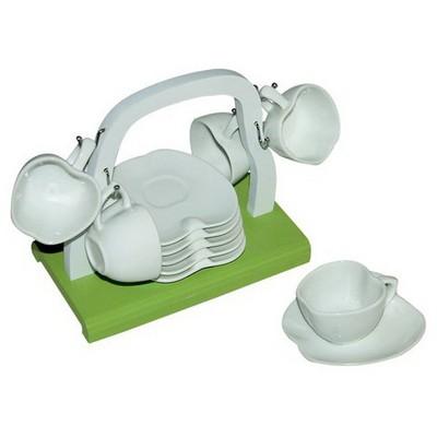İhouse 5690 Seramik Fincan Seti Beyaz Fincan Takımı