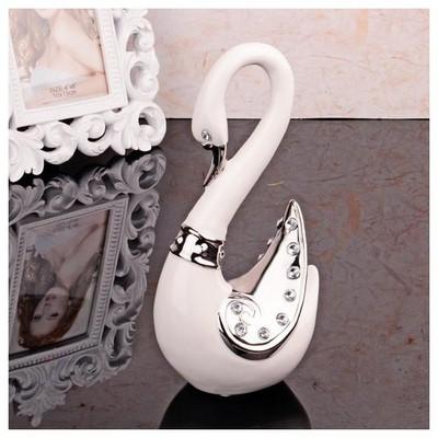 İhouse 6129 Porselen Biblo Beyaz Dekoratif Ürünler