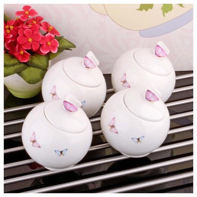 İhouse 8017 Porselen Baharatlık Beyaz