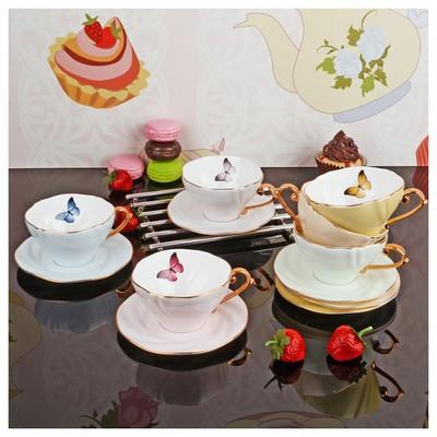 İhouse 8402 Porselen Fincan Seti Karma Çay Seti