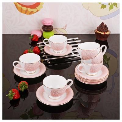 İhouse 8405 Porselen Fincan Seti Karma Çay Seti