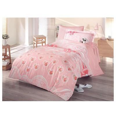 Clasy Fiyonk Uyku Seti Tek Kişilik Pembe Ev Tekstili