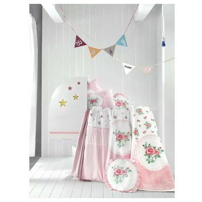 clasy-rosen-baski-battaniyeli-bebek-nevresim-takimi-tek-kisilik-pembe
