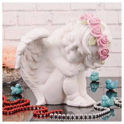 İhouse 8719 Melek Biblo Beyaz Dekoratif Ürünler