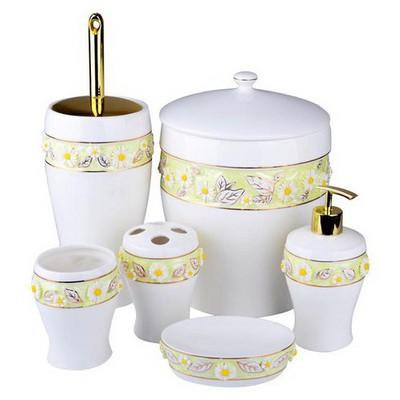İhouse 912 Porselen  Beyaz Banyo Seti