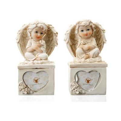İhouse Ang9 2 Li Aşk Melekleri Beyaz Dekoratif Ürünler