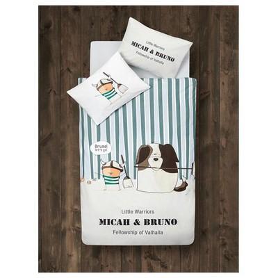 Clasy Bruno  Takımı Sütkü Kahve Bebek Nevresim