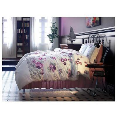 Clasy Dantelcev1 Uyku Seti Fuşya Çift Kişilik Ev Tekstili