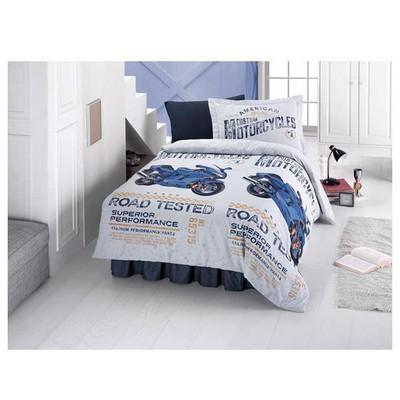 Clasy Dragstar Uyku Seti Mavi Tek Kişilik Uyku Setleri