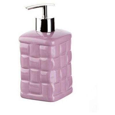 İhouse Dx09l Seramik Sıvı Sabunluk Lila Banyo Aksesuarı