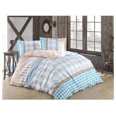 Clasy Ekinoksv2 Nevresim Takımı Mavi Çift Kişilik Ev Tekstili