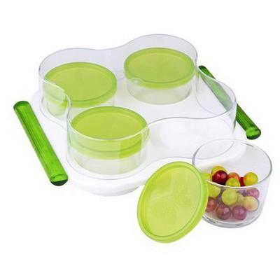 İhouse Fon0004 Kahvaltı Seti Yeşil Kahvaltı Takımı