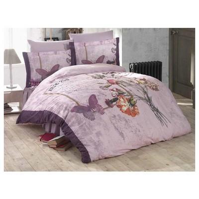 Clasy Glamour Uyku Seti Lila Çift Kişilik Uyku Setleri