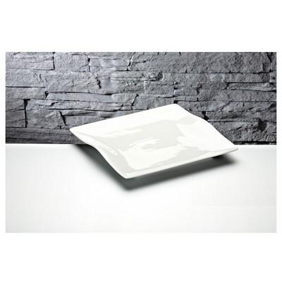 İhouse Gnd-10 Porselen Servis Tabağı Beyaz Küçük Mutfak Gereçleri
