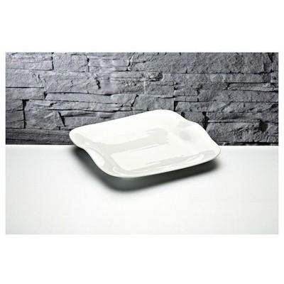 İhouse Gnd-11 Porselen Servis Tabağı Beyaz Servis Gereçleri