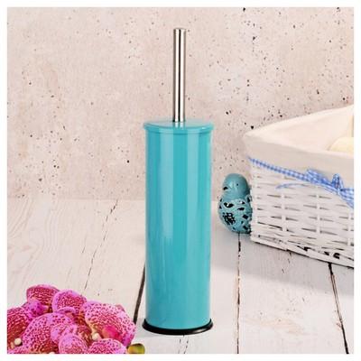 İhouse Hal0002 Metal Tuvalet Fırçalığı Mavi Banyo Aksesuarı
