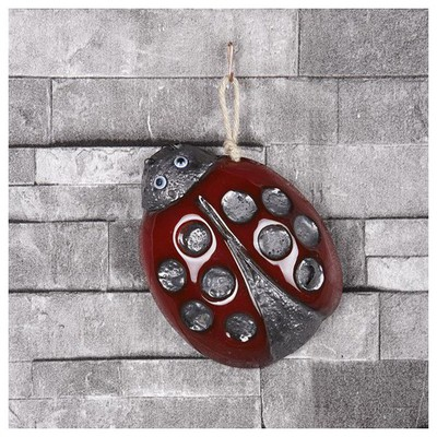İhouse Ih120 Uğur Böceği Duvar Süsü Kırmızı Dekoratif Süs