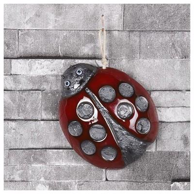 İhouse Ih121 Uğur Böceği Duvar Süsü Kırmızı Dekoratif Süs