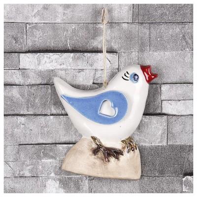 İhouse Ih124 Çalıkuşu Duvar Süsü Turkuaz Dekoratif Süs