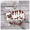 İhouse Ih131 Nazar Boncuklu Dekoratif Duvar Süsü Kırmızı Ev Gereçleri